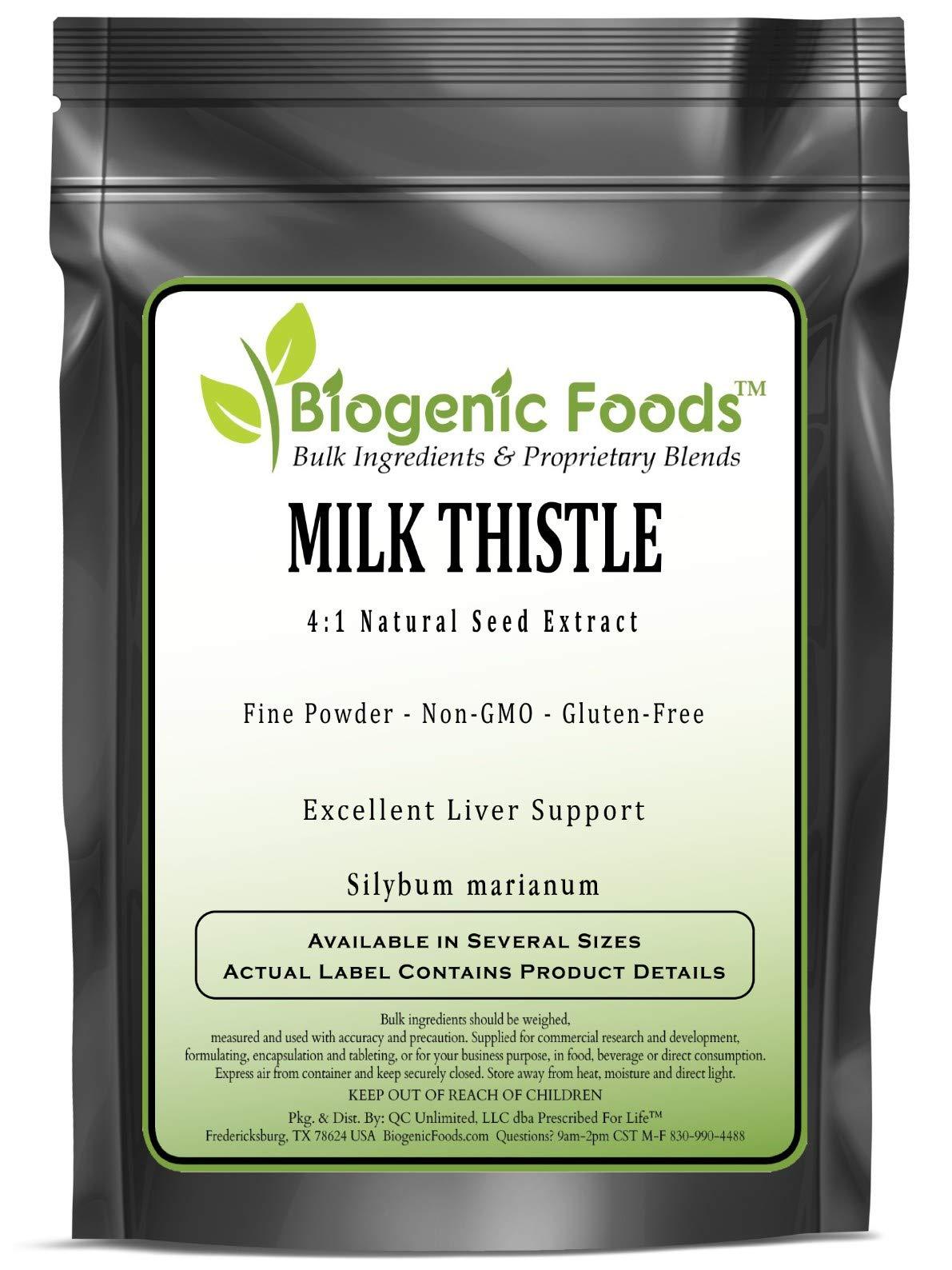 Milk Thistle - 4:1 Natural Seed Fine Powder Extract (Silybum marianum), 5 kg