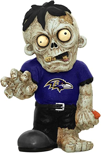 Nfl Baltimore Ravens Pro Team Zombie Figurine Collectible Figurines Sports Outdoors
