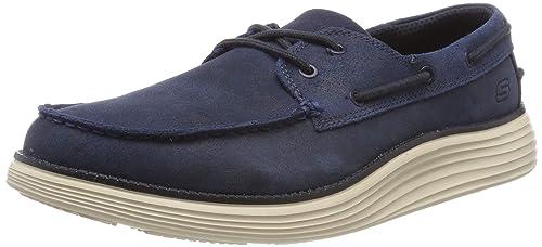 Skechers Status 2.0-Former, Mocasines para Hombre: Amazon.es: Zapatos y complementos