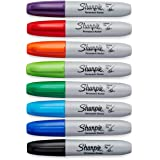 Case of 12 Packs of Sharpie Ultra Fine Point, Multi Color Permanent Markers, 12 Count…