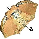 VON LILIENFELD Parapluie automatique à motif d'art Gustav Klimt: Adele