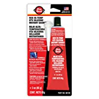 ProSeal 80726 High Temperature RTV Silicone Instant Gasket, Red