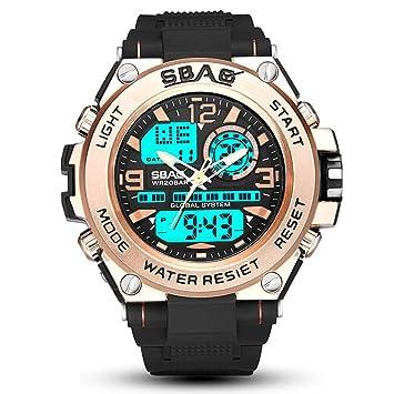 SW Watches Relojes Deportivos para Hombre Digitales - Relojes Deportivos Impermeables Al Aire Libre con Retroiluminación