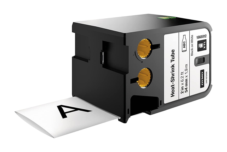 Class 1//3 DYMO Tubo termorretr/áctil continuo - Cintas para impresoras de etiquetas Negro sobre blanco, Negro, Transferencia t/érmica, B/élgica, UL 224, MIL-M-81531, MIL-STD-202G, SAE-DTL- 23053//5