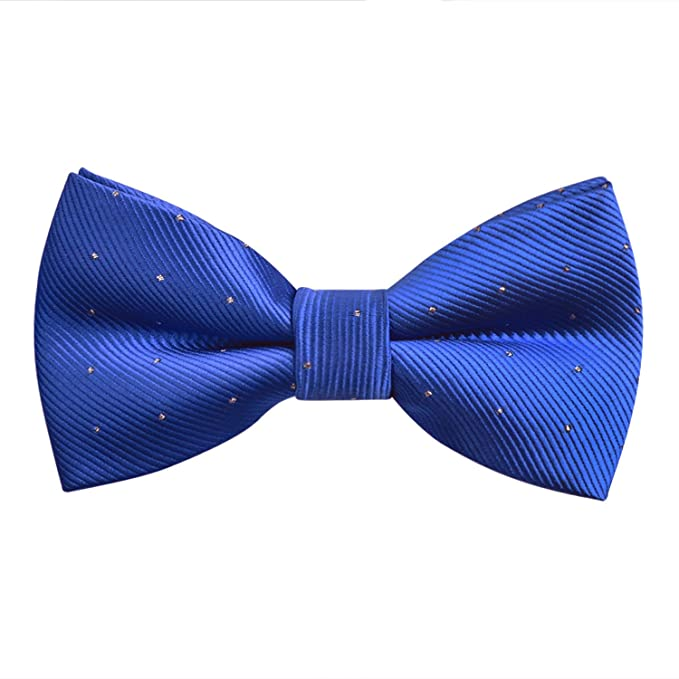 Alizeal Mini Topos -Pajarita Anudada Ajustable para Hombre Azul ...