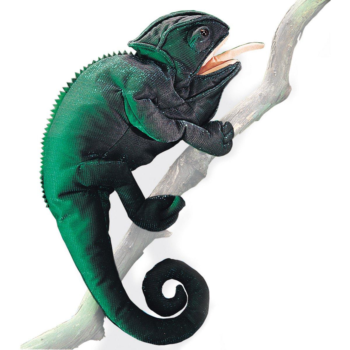 Folkmanis Chameleon Hand Puppet Folkmanis Puppets 2215