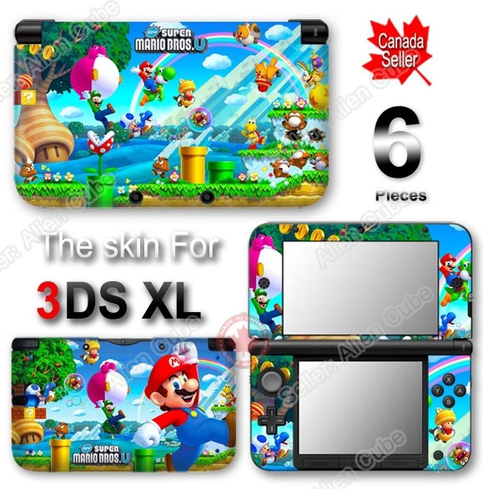 Super Mario NEW SKIN VINYL STICKER DECAL COVER for Original Nintendo 3DS XL