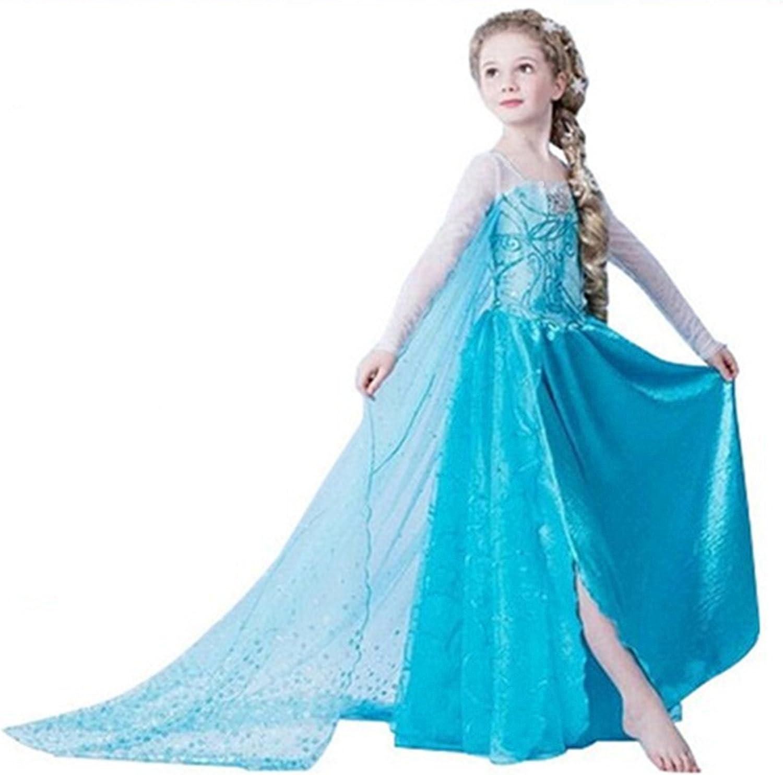 Disfraz de Princesa ELSA & ANNA® de Frozen, para niña (3-4 años ...