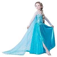 ELSA & ANNA® Princesa Disfraz Traje Parte Las Niñas Vestido