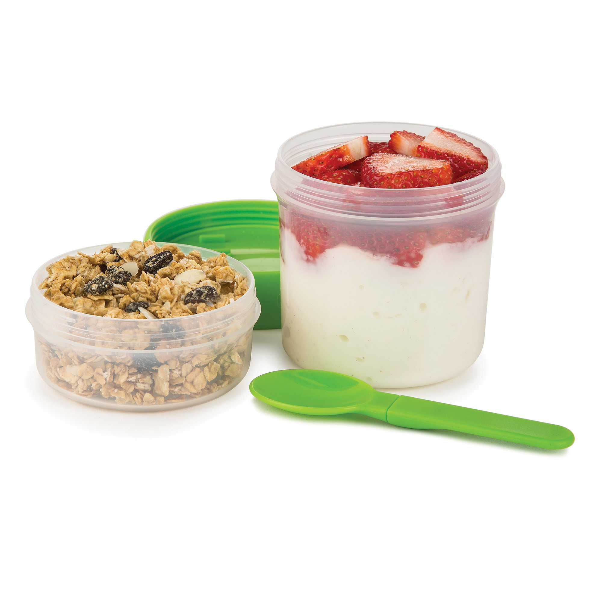 Prepworks by Progressive Leakproof Food Container, Green
