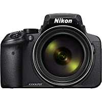 Nikon COOLPIX P900 Digital Camera - Black (16.0 MP CMOS sensor, 83x Zoom) 3-Inch LCD Screen Kompakt Kamera
