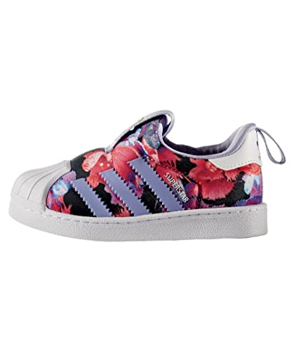 c164fd0493aa adidas Superstar 360 Infant Girls Trainers (24 EU)  Amazon.co.uk ...
