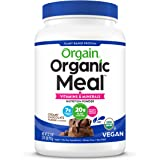 Vegan Protein Meal Replacement Powder by Orgain - Certified Organic and Plant Based, No Gluten, Soy or Dairy, Non-GMO, Creamy