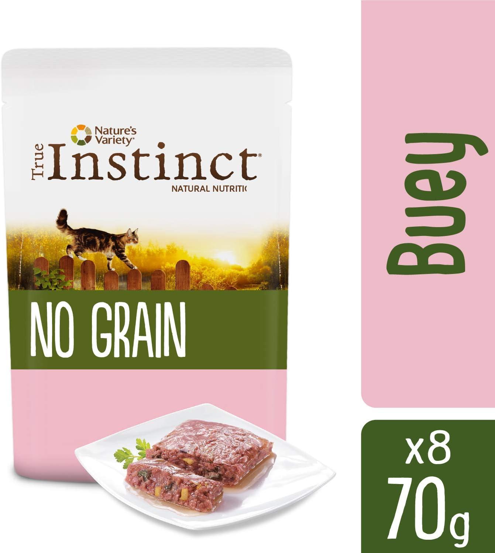 True Instinct No Grain Paté de Buey con Verduras para Gatos 70 gr ...