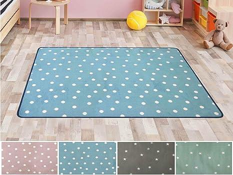 Primaflor - Ideen in Textil Kinderteppich Spielteppich Punto ...