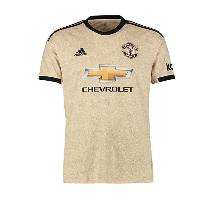 pretty nice ea9c7 69db1 Manchester United FC Official Football Gift Mens Away Kit Shirt 2019/20