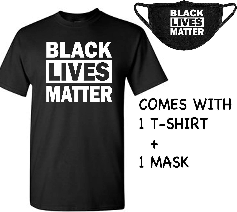 Novelty Black Lives Matter Shirt I Cant Breathe T-Shirt Resist BLM ...
