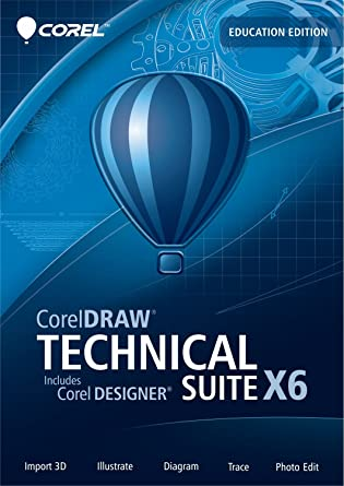 CorelDRAW Technical Suite X6 Education Edition [Download] (Old Version)