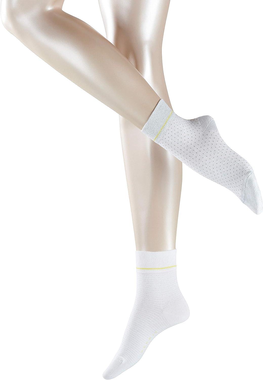 FALKE Damen Nice Stripe /& Dot 2-pack W Shs ESPRITSocken Baumwollmischung