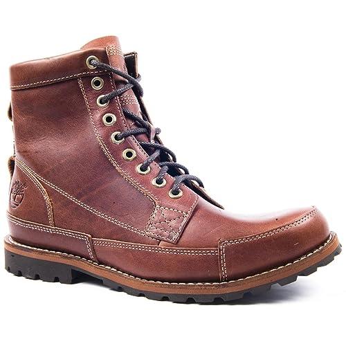 Timberland - Botines chelsea de cuero hombre, color marrón, talla 43: Amazon.es: Zapatos y complementos