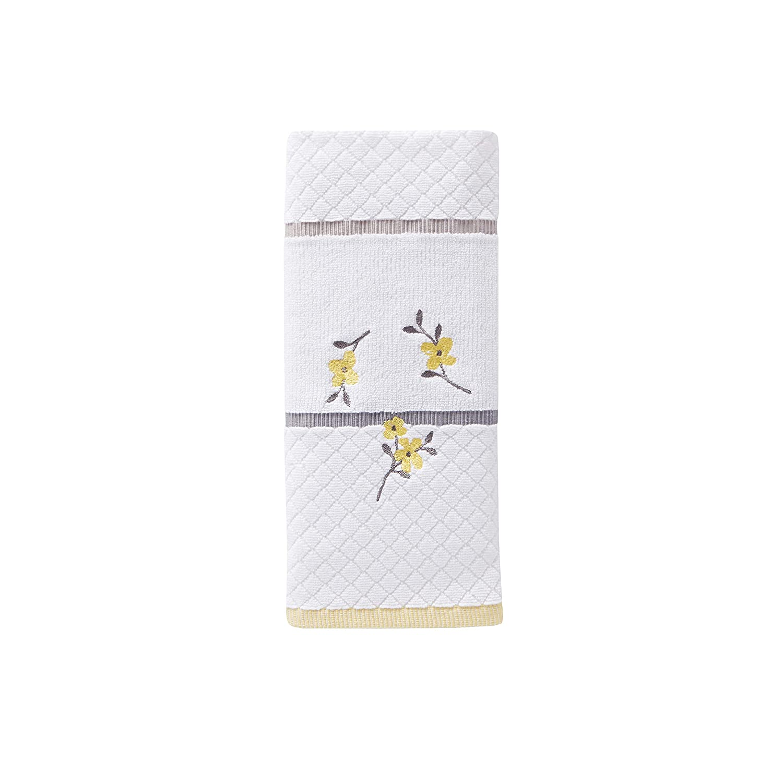 SKL Home by Saturday Knight Ltd. Spring Garden Hand Towel, White