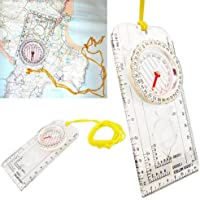 Niome Compass Army Scouts Hiking Magnifying Camping Boating Map Reading Orienteering