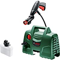 Bosch 06008A7E40 High Pressure Washer EasyAquatak 100 (1200 Watt, 100 Bar / 1450 PSI, 360 Degree High-Pressure Gun, 3 m…