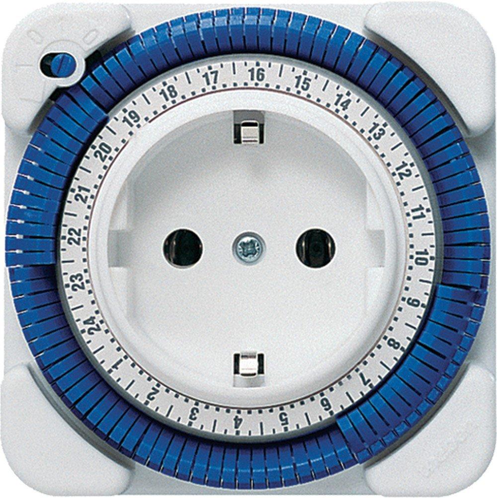 Theben TIMER 26 - Enchufe con temporizador, color blanco product image