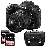 Nikon D500 20.9 MP CMOS DX Format Digital SLR Camera with 16-80mm VR Lens Kit, Dual Lexar 64GB 1000x SDXC Memory Card…