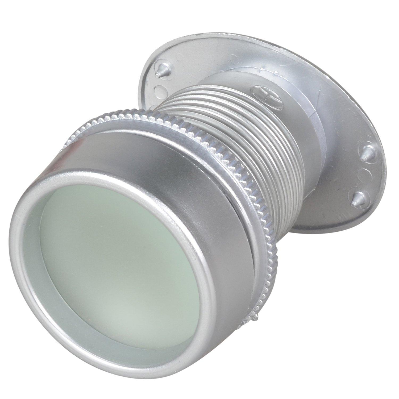TYBONDER Plastic Door Viewer 1 3/4 inch Viewing Diameter Door Scope (Silver)
