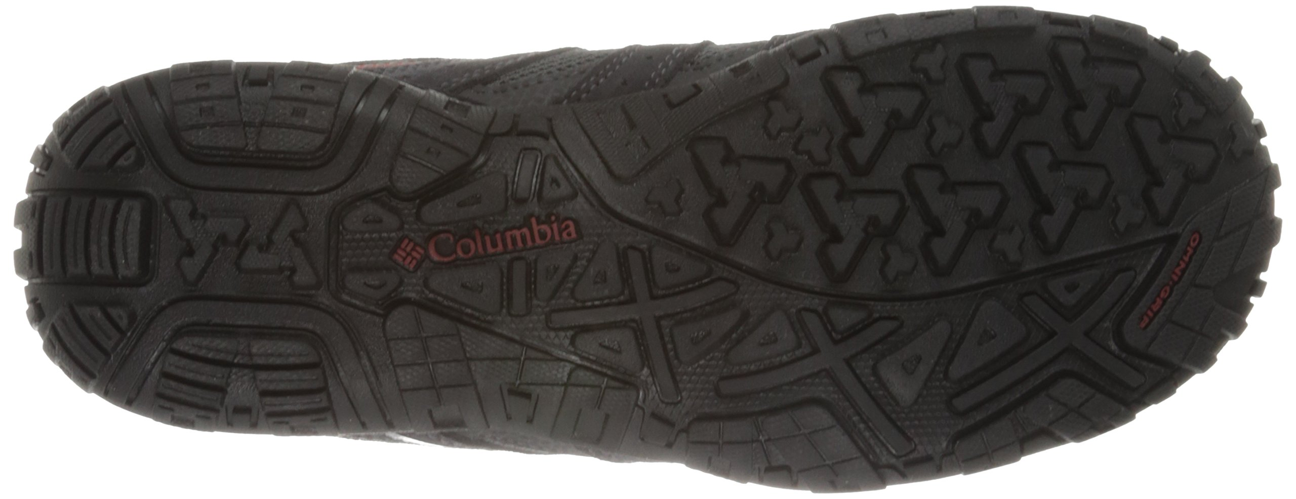 Columbia Men's Redmond Waterproof, Charcoal/Garnet Red 7 M US by Columbia (Image #3)