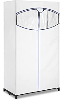 Perfect Whitmor Clothes Closet   Freestanding Garment Organizer With Sturdy Fabric  Cover