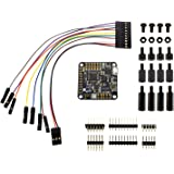 AbuseMark Acro Naze32 Rev 6 Flight Controller W/ Straight / Bent Pin Headers, Breakout Cable, & Apex RC Products Nylon Standoffs