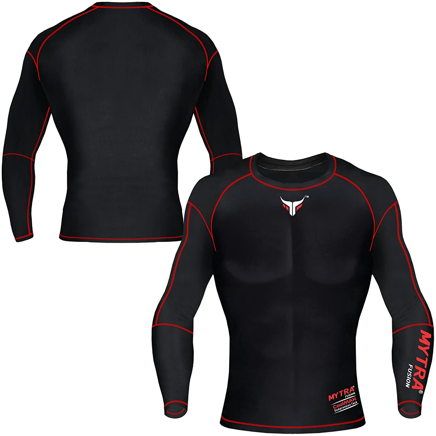 83962adf15f1 Mytra Fusion Mens & Boys PowerLayer Compression Base Layer Baselayer ...