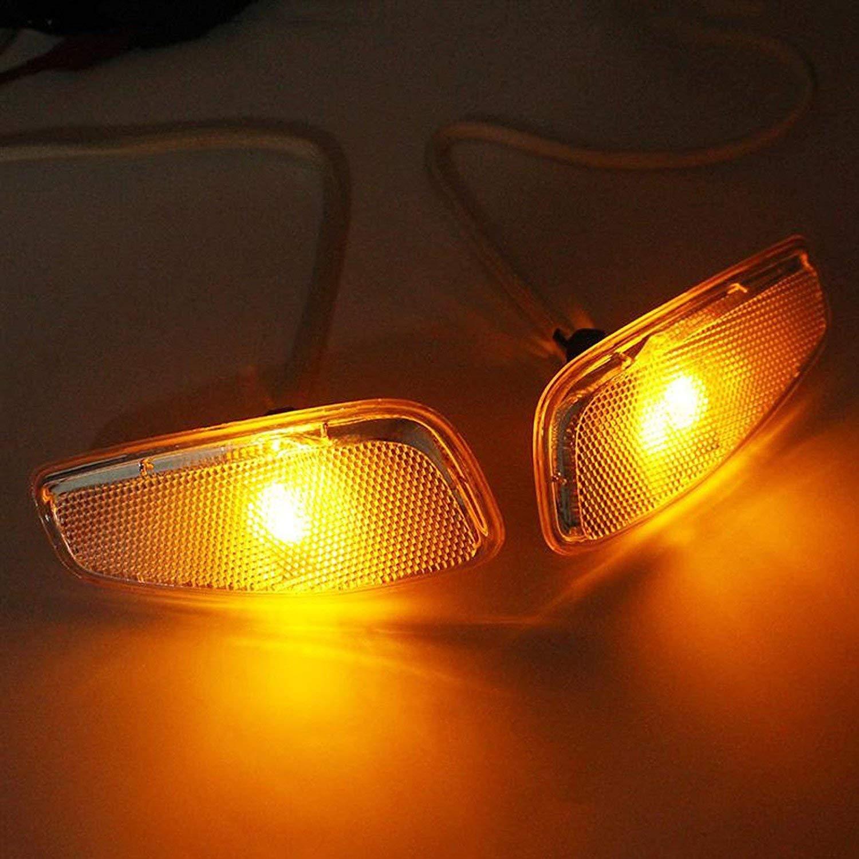 LITTOU 2X LED Direccional Luces laterales para renegade 2016 2017