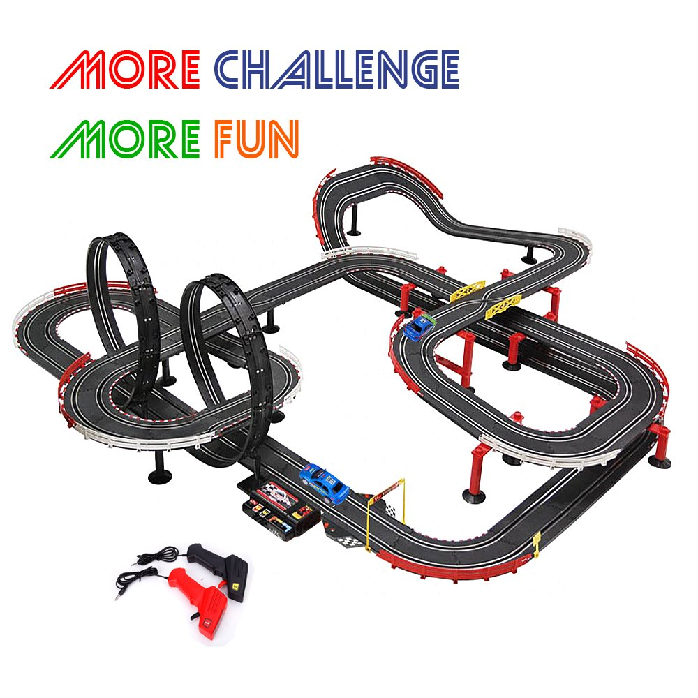 2.Carrera GO!!! GT Contest Scale Electric Powered Slot Car Race Track Set.Get it now on Boost your kid's creativity, and experimentation level with the GT Contest Scale Electric Powered Slot Car.The track features 12feet of racing distance featuring straight and .