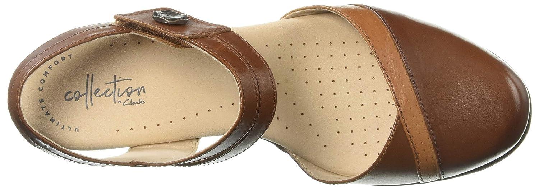 1ac4bbb6 Amazon.com | CLARKS Women's Valarie Rally Heeled Sandal | Heeled Sandals