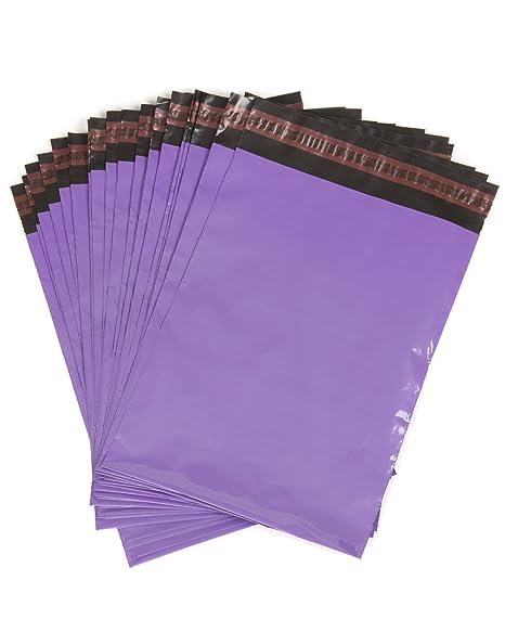 100 morado bolsas de plástico para envíos postales, 52,5 305 ...