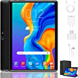 Tablet 10 Inch, Dual 4G LTE, 5G WIFI, Quad-Core, Android 9.0 Tablet PC, 3GB RAM 32GB ROM/128GB Computer Tablets, 8500mAh…