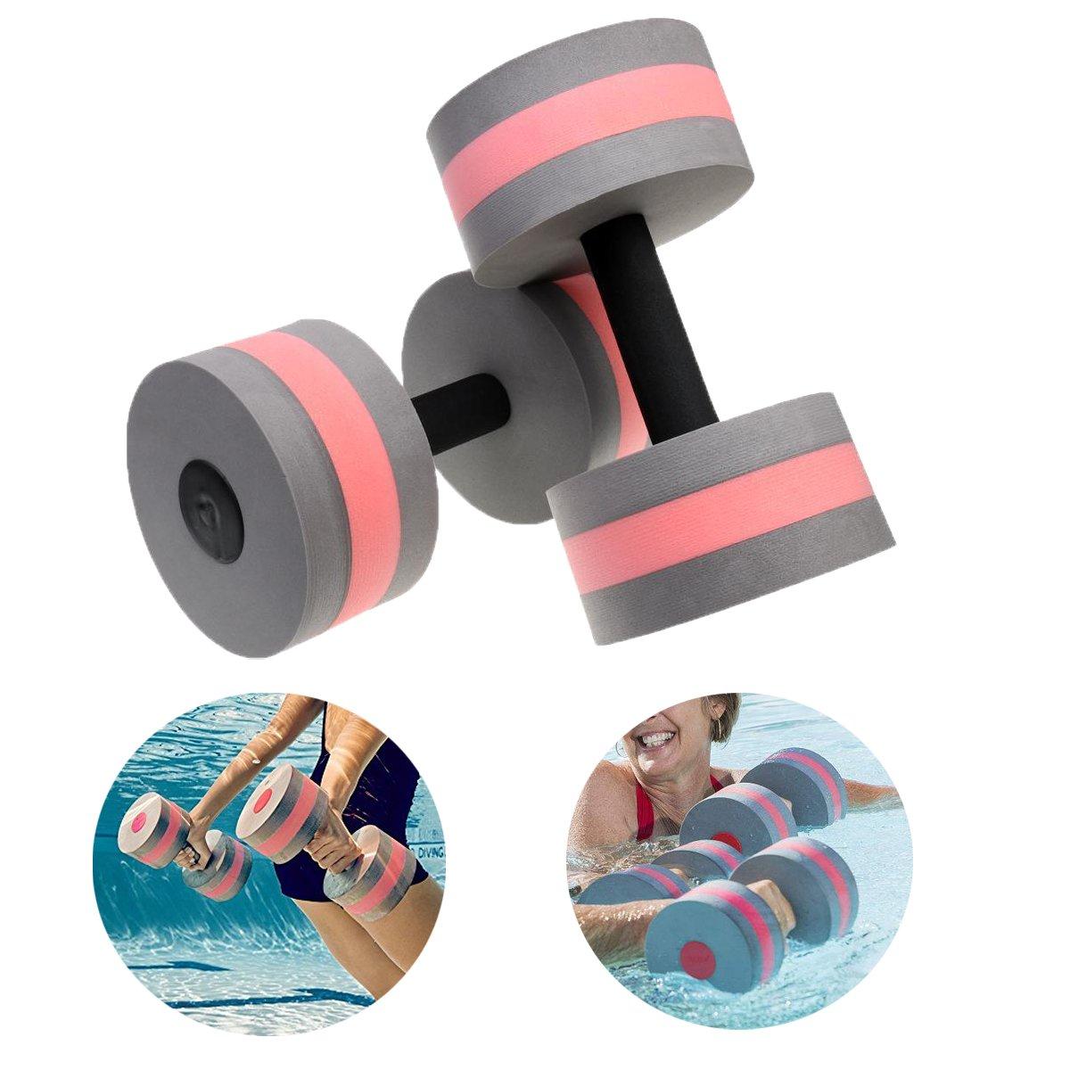 zerlar ejercicio acuático mancuernas de piscina ejercicios para aquaeróbic formación fitness ejercicios equipo para pérdida de peso de 2 pcs - HT-SSESSYL1GY ...