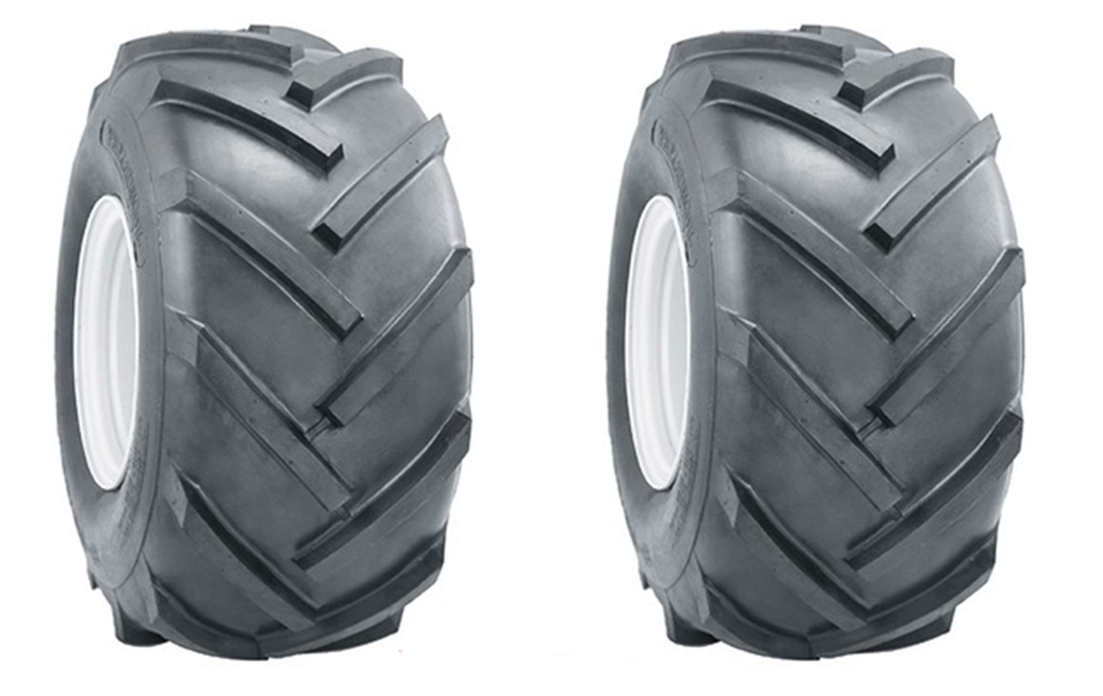 K-9 Two 15x6.00-6 15x600-6 R1 Lug Super Traction Tires Lawn Tractor Heavy Duty 6 Ply Rated