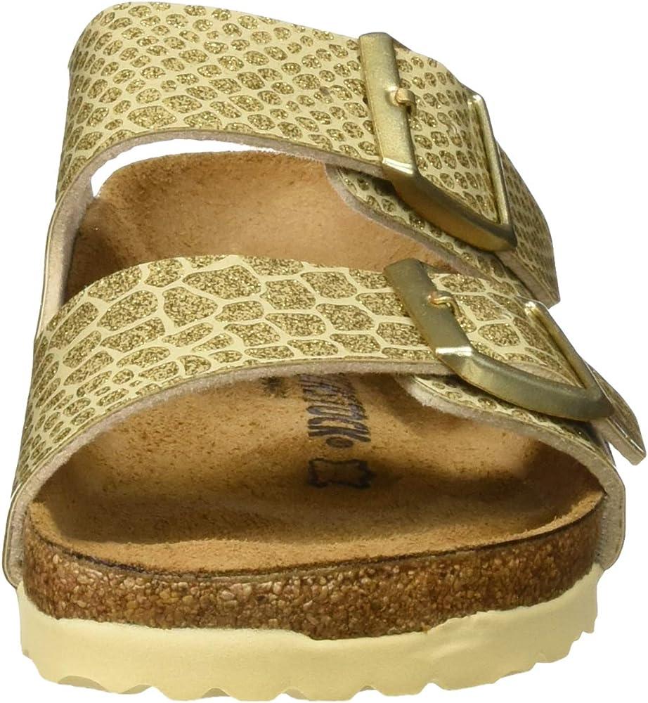 Birkenstock Arizona Narrow Sandals 5 B(M) US Women Magic Snake Gold