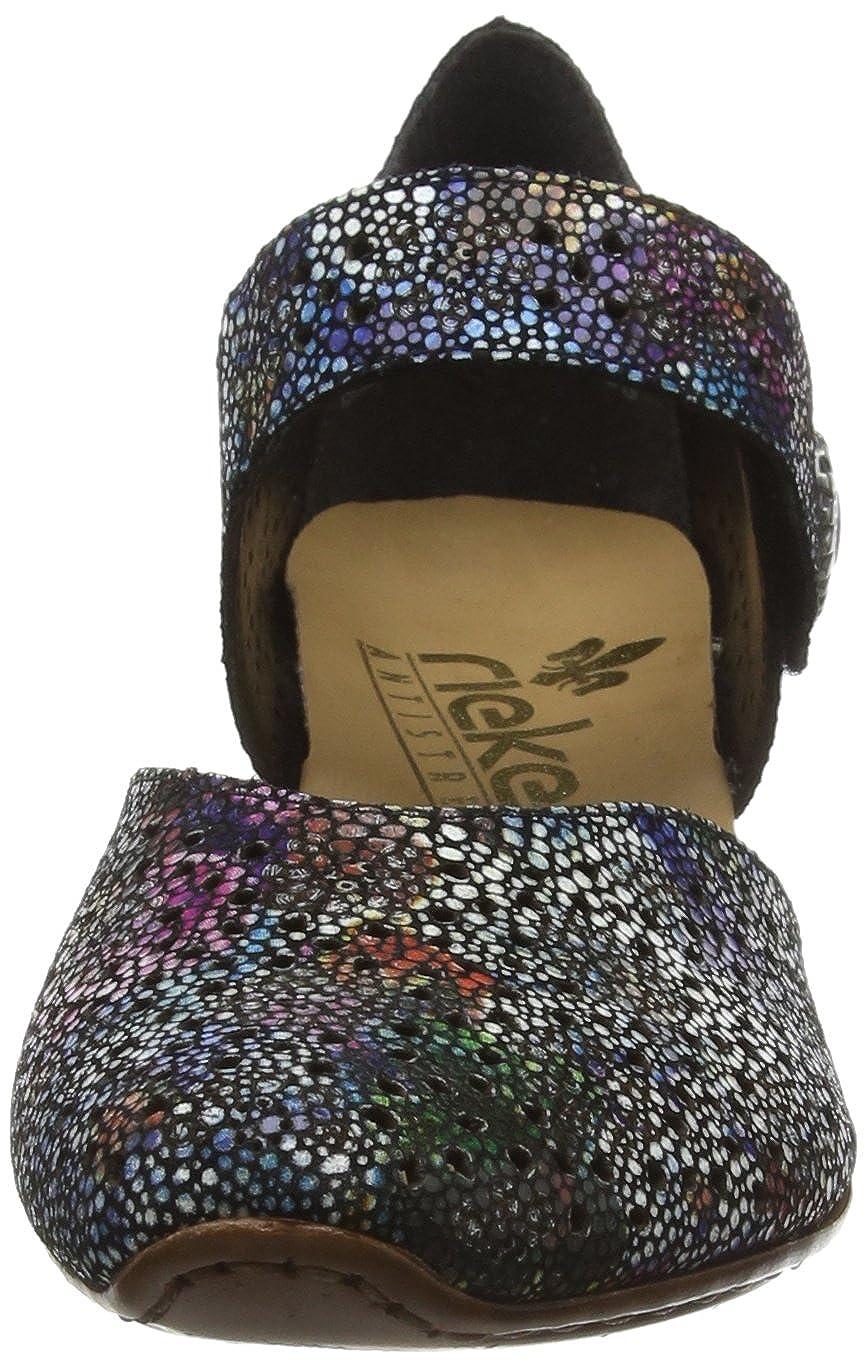 Mehrfarbig 90 43711 Damen Rieker amp; Pumps Handtaschen Schuhe pn8IqxvaZ