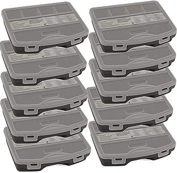 TronicXL - Juego de 24 cajas surtidas para herramientas (vacías): Amazon.es: Bricolaje y herramientas