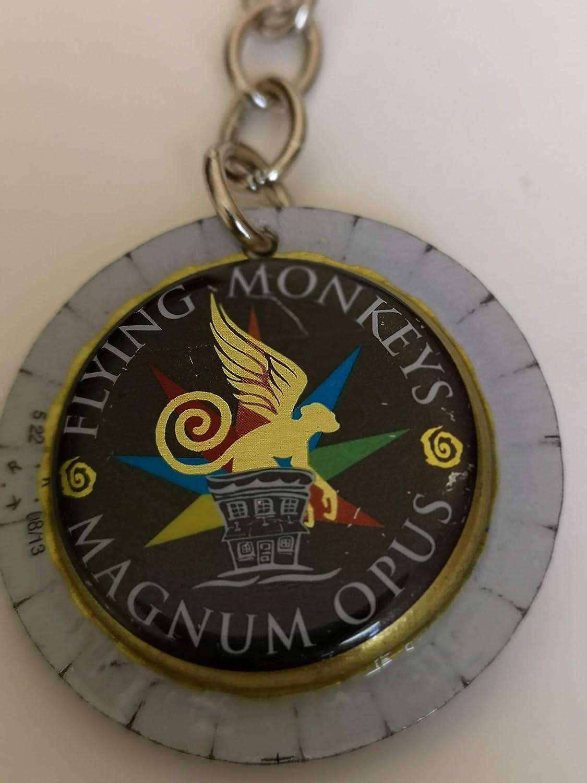Llavero FLYING MONKEYS MAGNUN OPUS: Amazon.es: Handmade