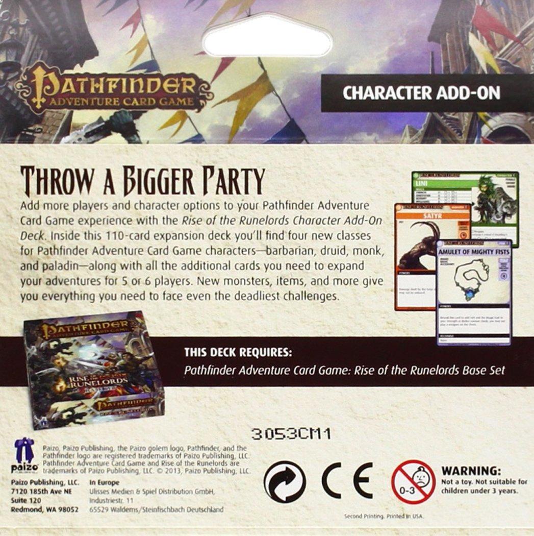 Amazon.com: Pathfinder Adventure Juego de cartas: Rise Of ...