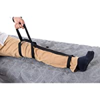 Leg Lift Aid, Leg Lifter Mobility Aid, Elderly Lifting Devices Foot Loop Mover with Hand Grip for Disability Pediatrics Senior, Leg Lifter for Bed, Car, Wheelchair