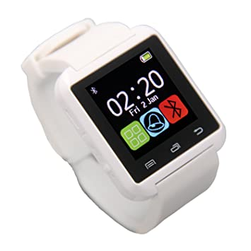 eJiasu Reloj Inteligente, U8 Smart Watch Reloj Inteligente Mujer ...