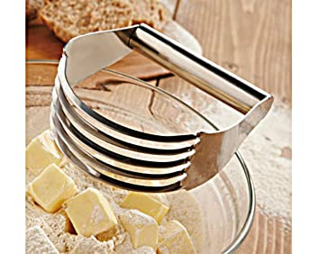 Batidora de repostería herramientas de cocina mango mezclador de masa para hornear de acero inoxidable calidad Home herramientas panadería harina de ...