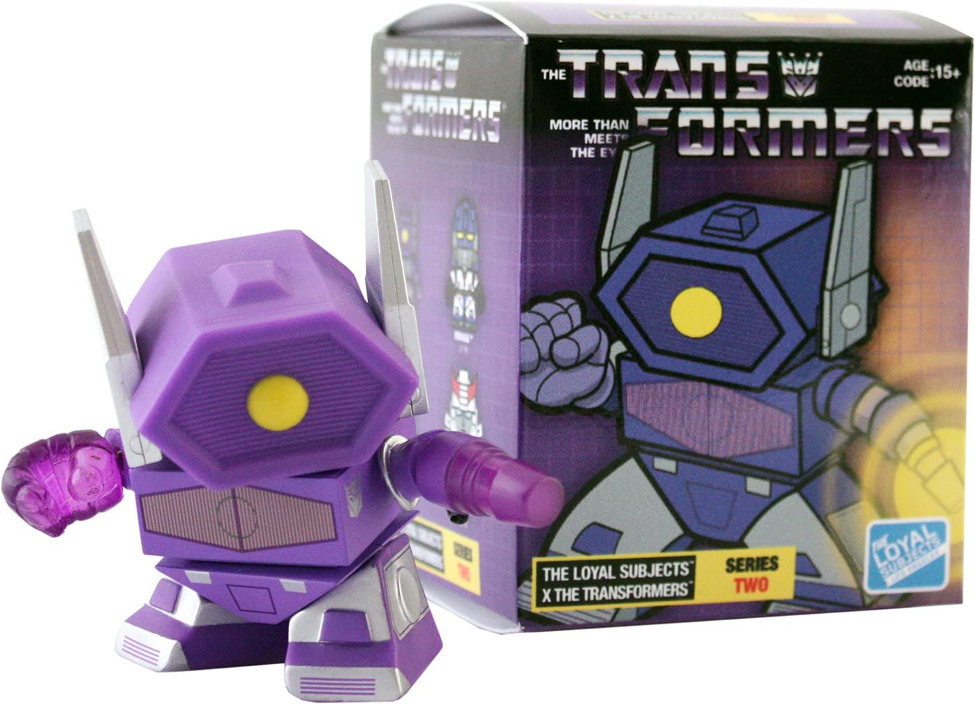 TLSTFS2002 The Loyal Subjects Series 2 Transformers 3 Blind Box Figure Publisher Services Inc PSI